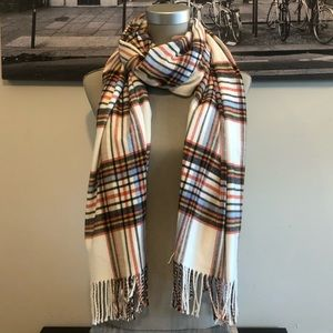 Indigo Accessories - Indigo | Thick & Cozy Plaid Scarf
